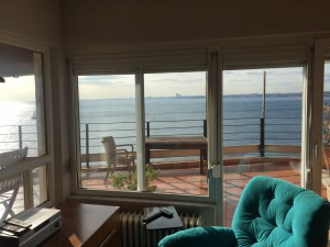istanbul moda furnished  apartment seaview seaside terasse