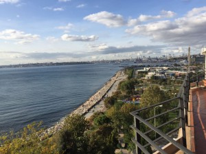 istanbul moda seaside furnished flat for rent garage seaside terasse 1